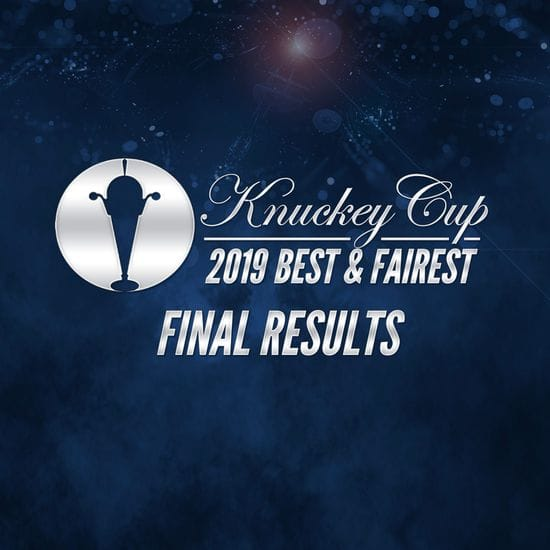 Joel Cross claims his fourth Knuckey Cup